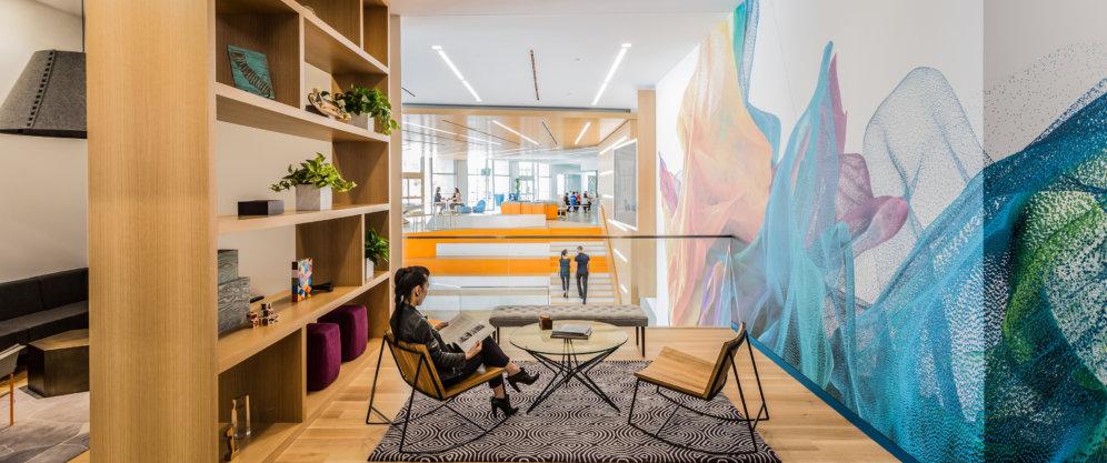 Adobe's Headquarters renovation elevates the work-life experience.