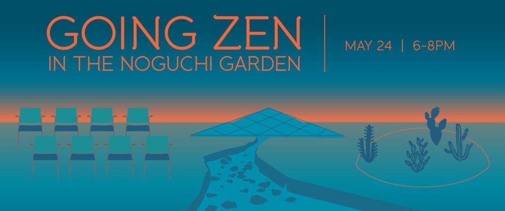 Going Zen In the Noguchi Garden - Costa Mesa