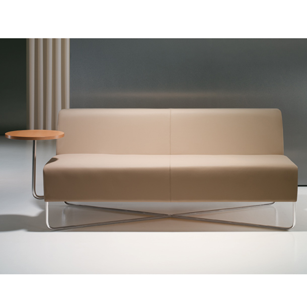 Bernhardt Balance 2 Seater Lounge With Tablet