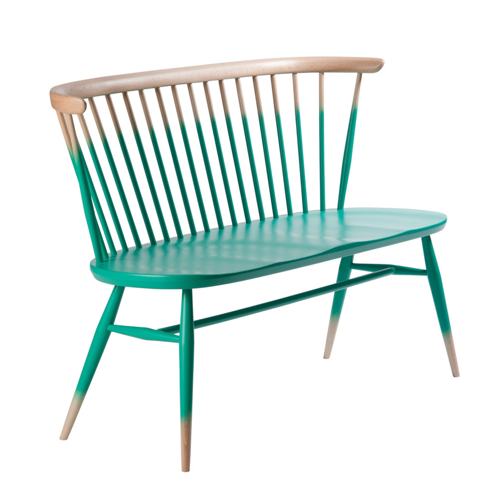 Ercol Originals Love Seat Teal