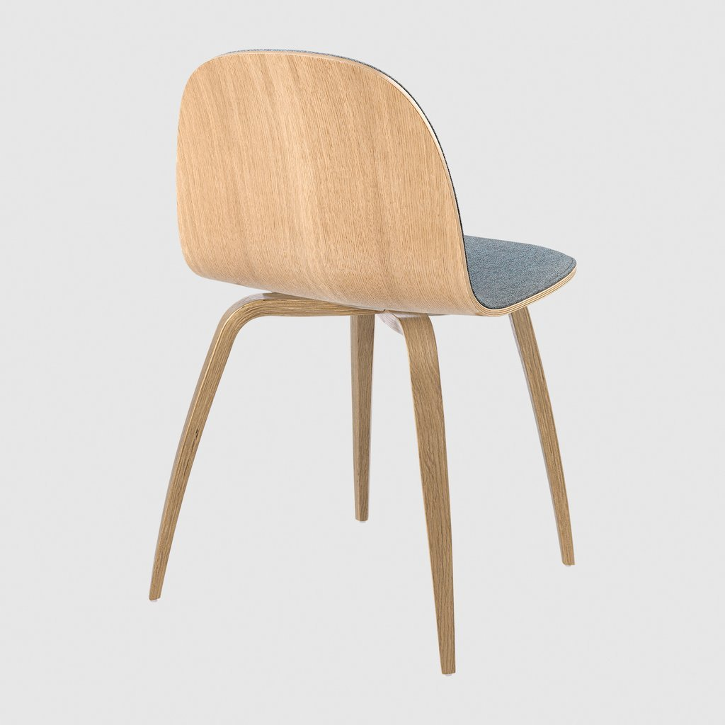 Gubi Chair 2 D Wood Base Oak Front Upholstered Wood Oak Gabriel Step Melange2441 6700 Back 1024x1024