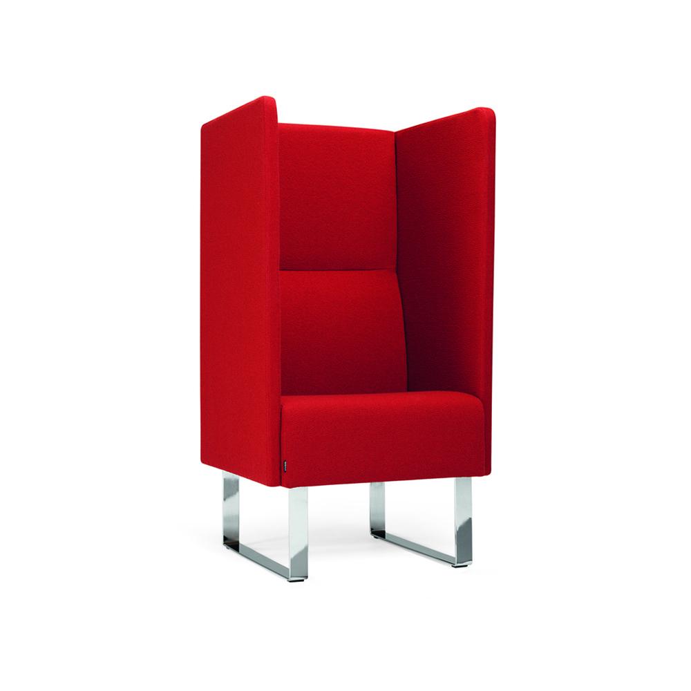 Hightower Monolite Highback Chair Red Angle2 300Dpi