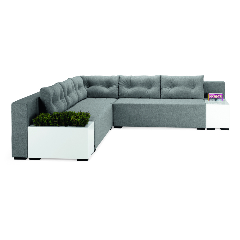 Hightower Monolog Corner Sofa Table Magazine Holder And Flowerbox Front 5X2 300Dpi