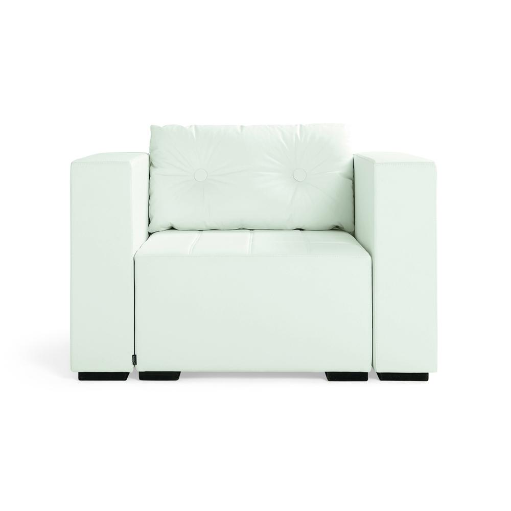 Hightower Monolog Easy Chair White Front 5X3 300Dpi
