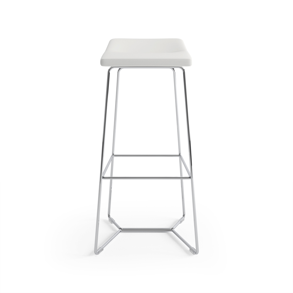Keilhauer Cahoots Bar Stool White 2