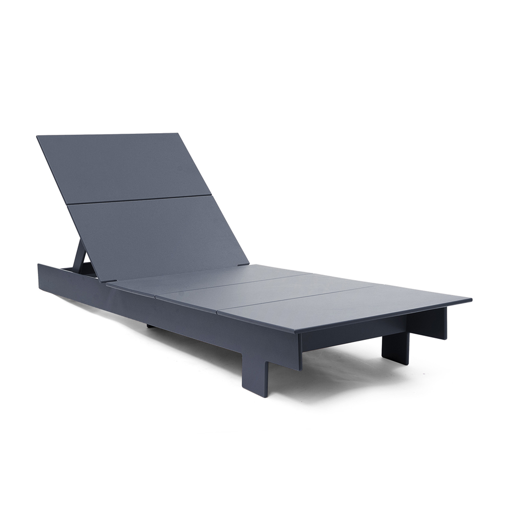 Loll Lollygagger Chaise Grey
