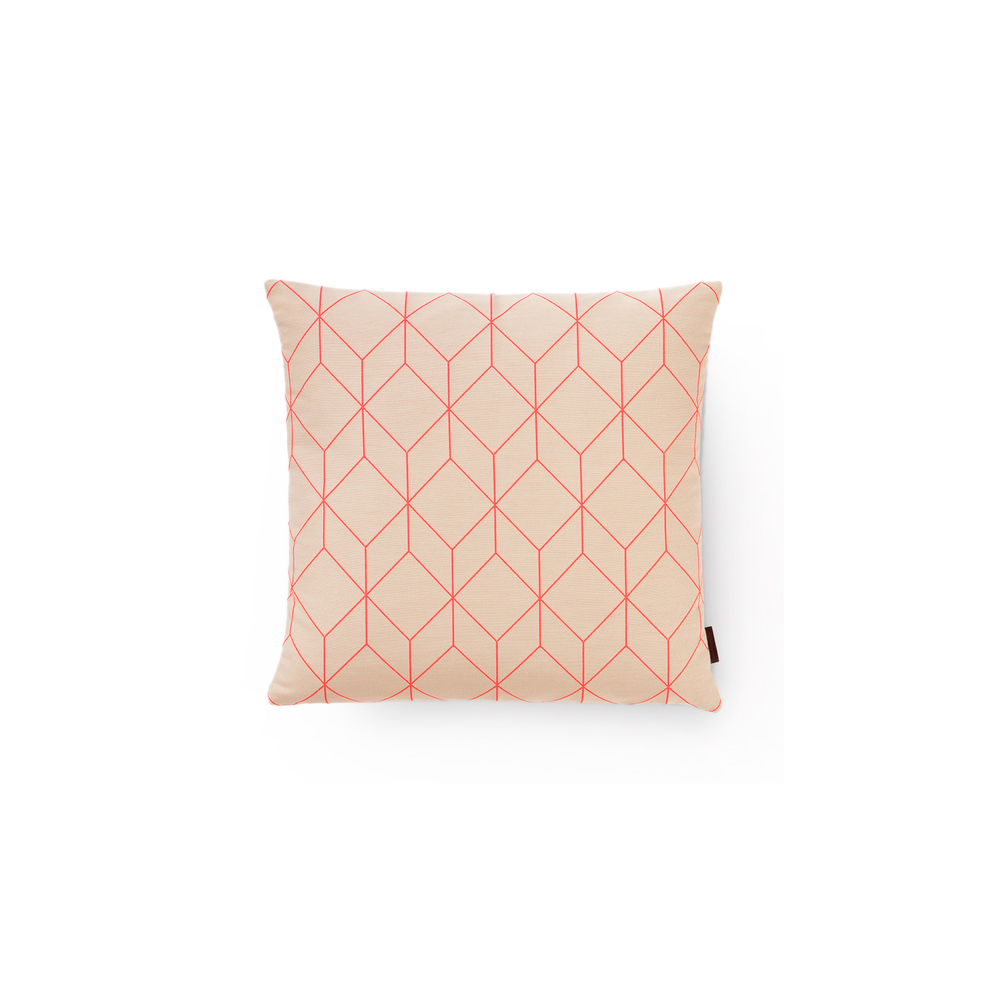 Maharam Bright Cube Pillow By Scholten Baijings White