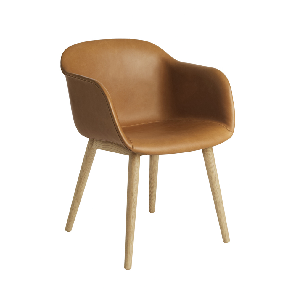 Muuto Fiber Arm Chair Leather