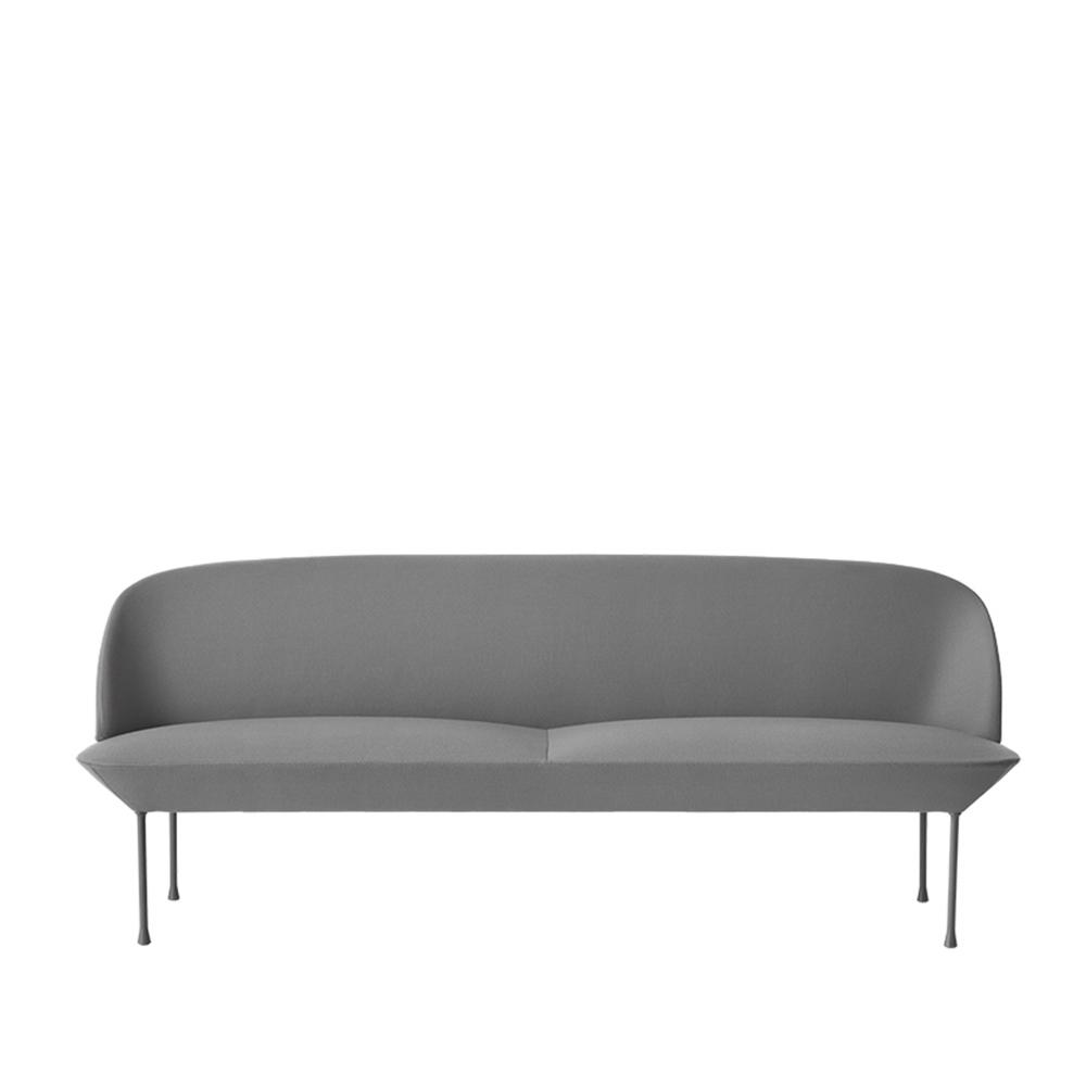 Muuto Oslo Sofa 3 Seat Grey