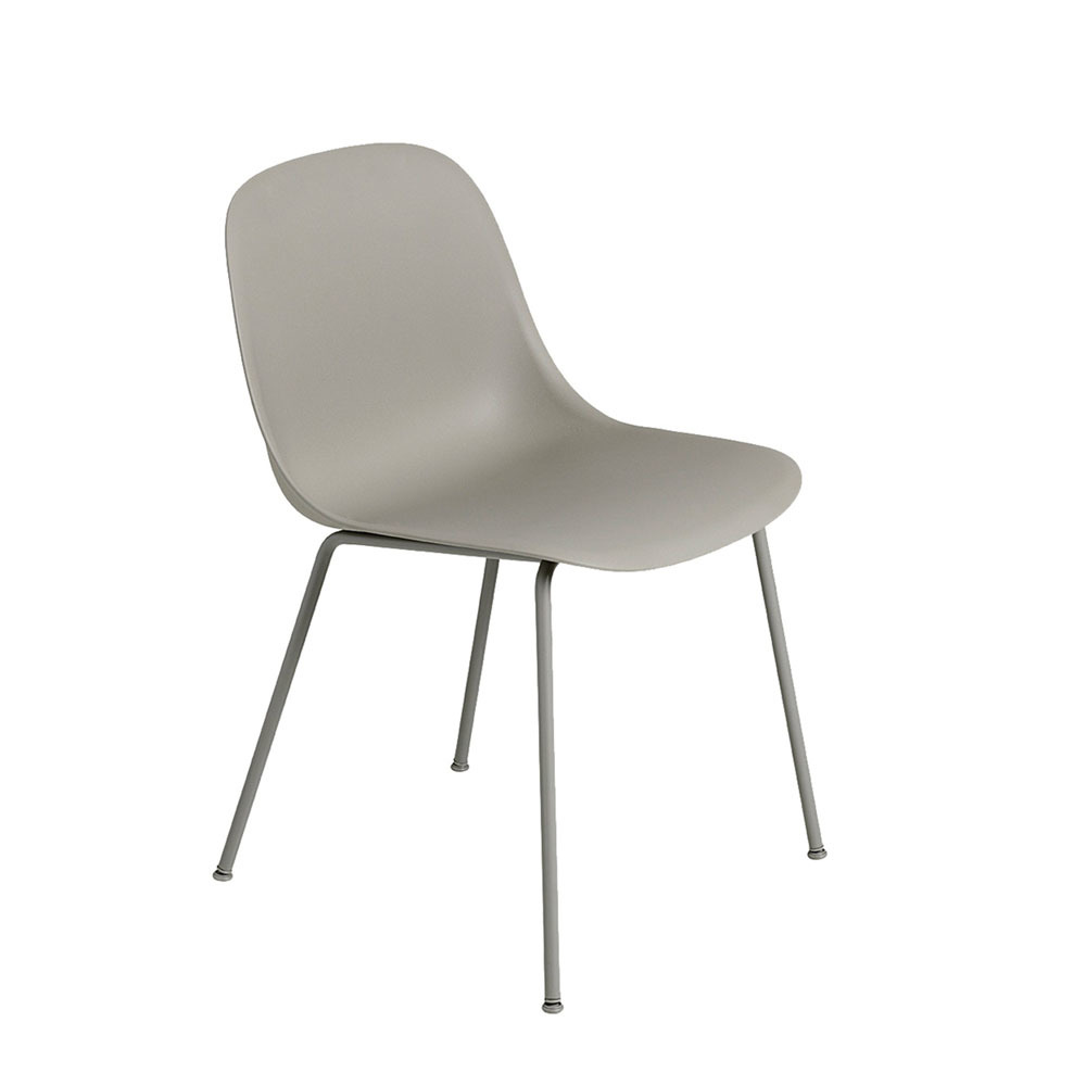 Muuto Fiber Sidechair Tube Grey