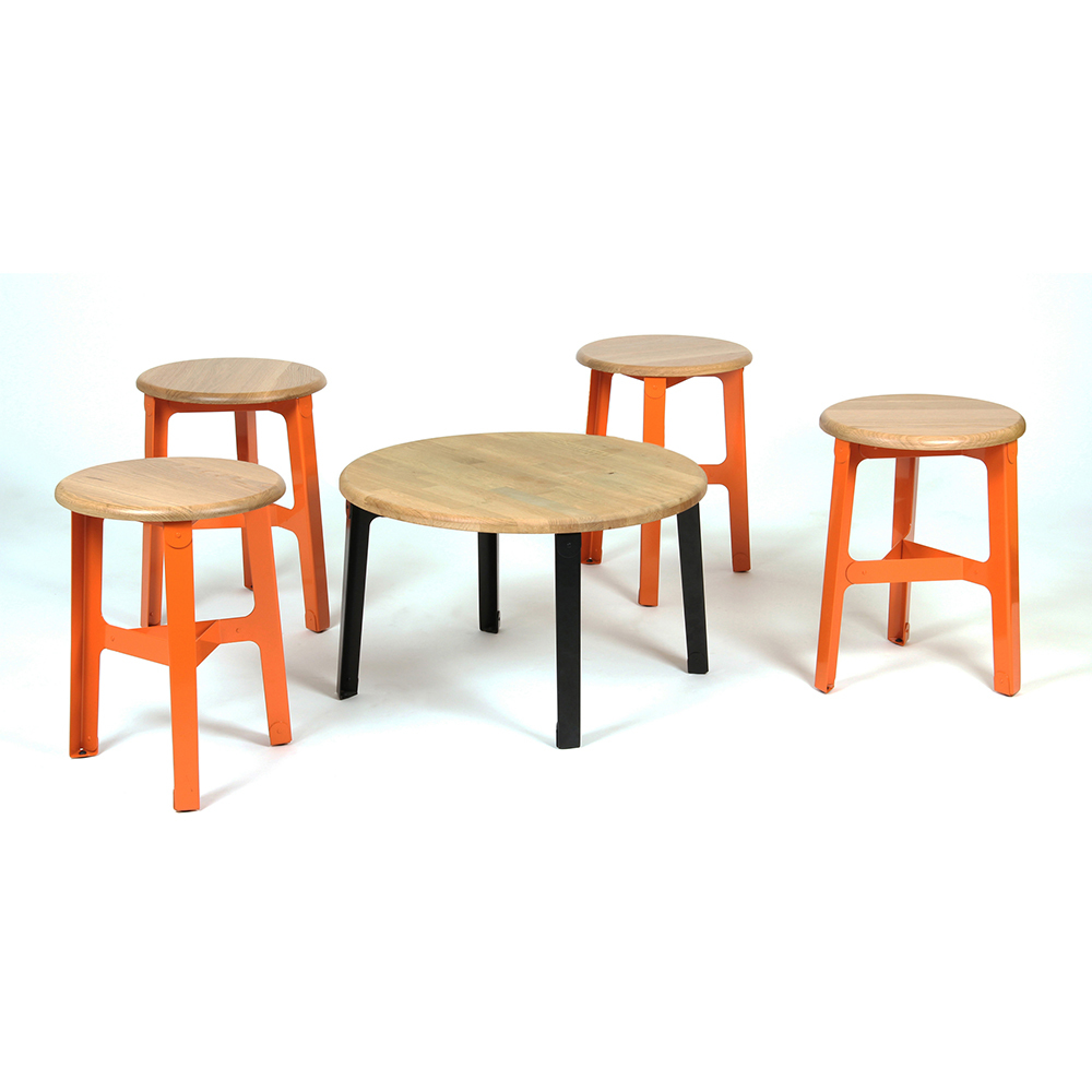 Naught Construct Coffee Table Construct Stools