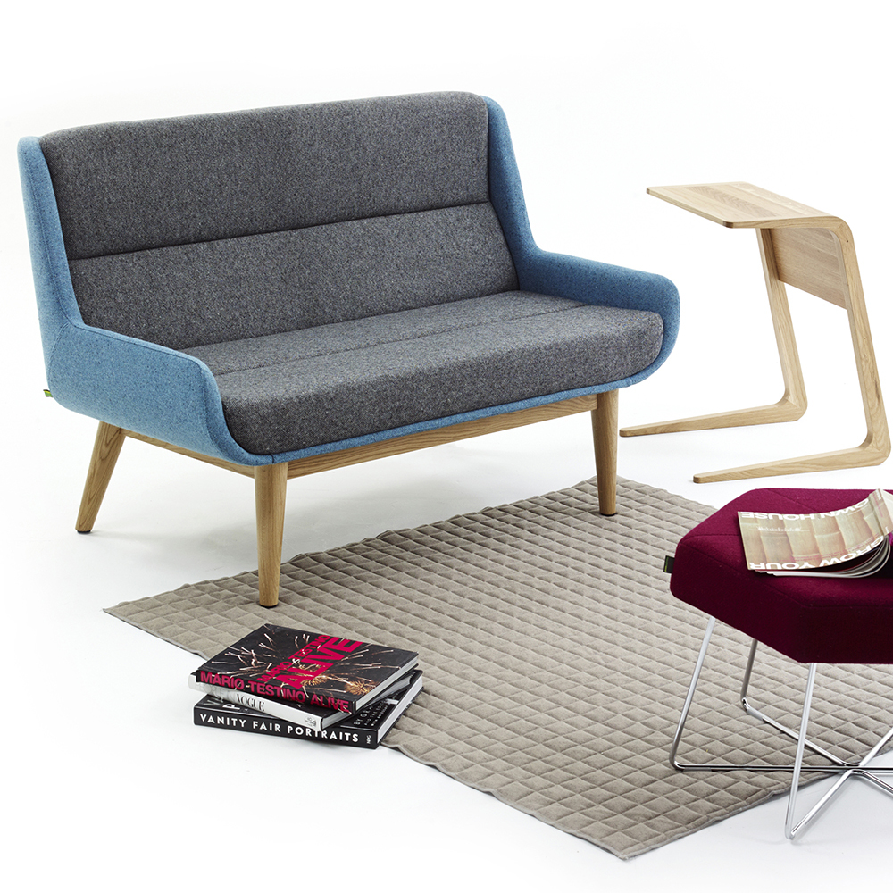 Naught Hush Low Sofa And Pollen Stool