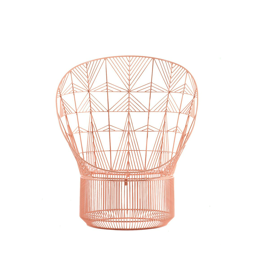 Bend Goods Peacock Chair Copper