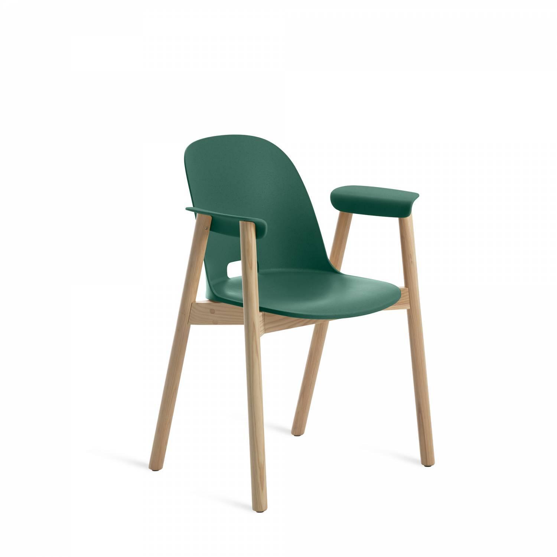 Emeco Alfie Arm Chair Green