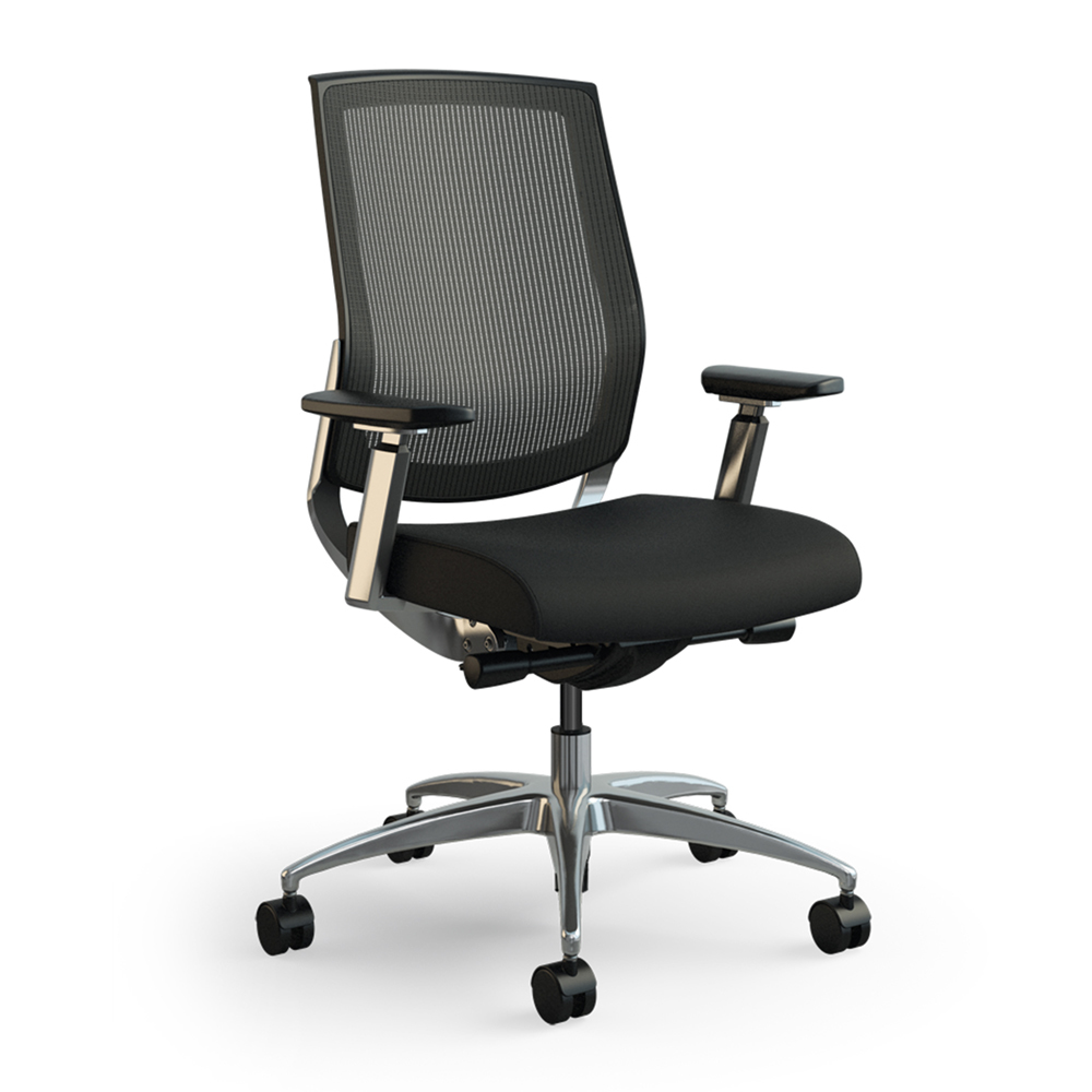 Sit On It Focus Executive Mesh Back