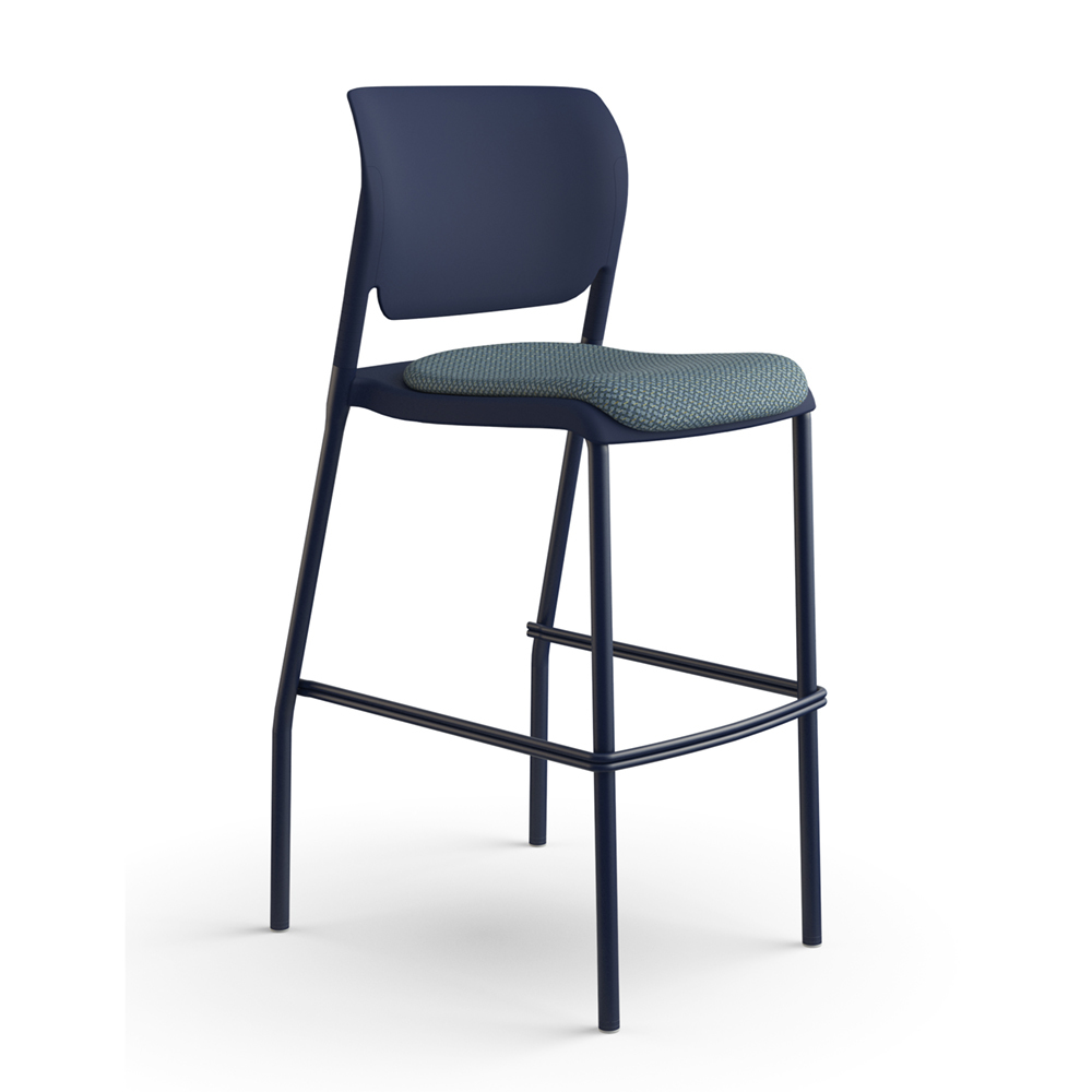 Sit On It Inflex Stool Upholstered Seat