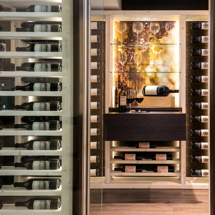 Dirtt Timber Wine Room