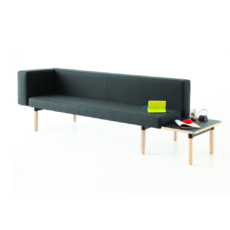 Keilhauer Visit Bench68322 Visit Table68653