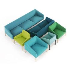 Arper Saari Group Lounge