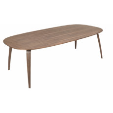 Gubi Ellipse Table Walnut