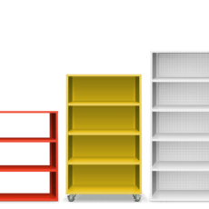 Heartwork Active Duty Bookcases