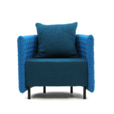 Naught Cloud Armchair Low Back Front View